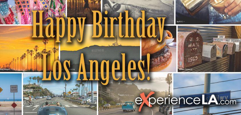 Happy 232nd Birthday Los Angeles