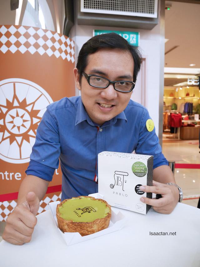 Pablo Matcha Cheesetart Launched In Malaysia