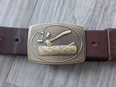 woodbadge belt
