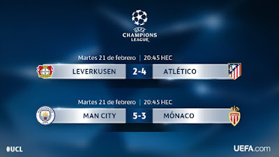 UEFA Champions League 2017: Segunda Ida Octavos