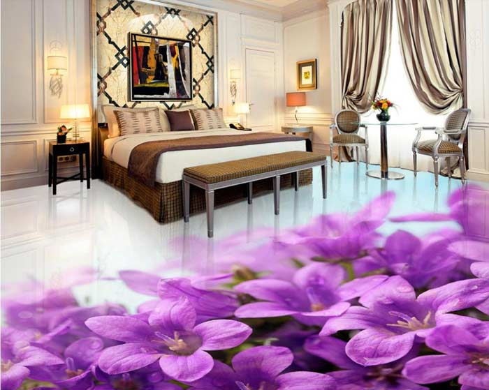 3d epoxy flooring 3d floor art 3d floor murals - Bedroom 3d Design
