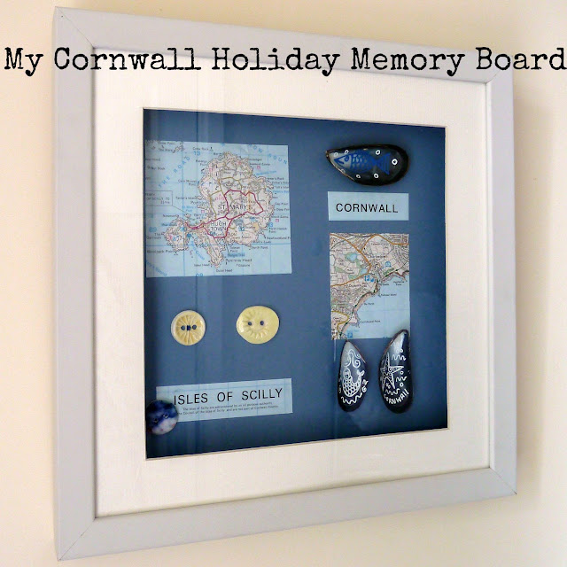 Create a Travel Memory Board