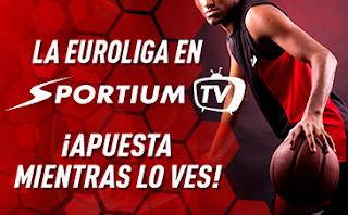 sportium EuroligaTV: Apuesta mientras lo ves