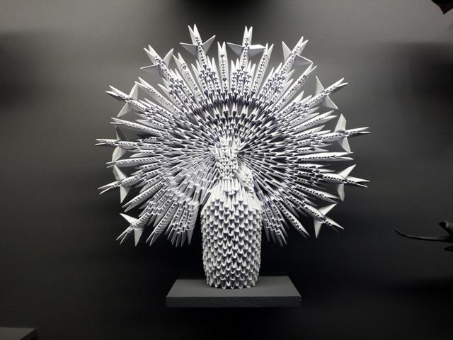 La Virgen del Pilar en el Museo del Origami