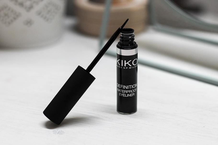 definition waterproof eyeliner kiko