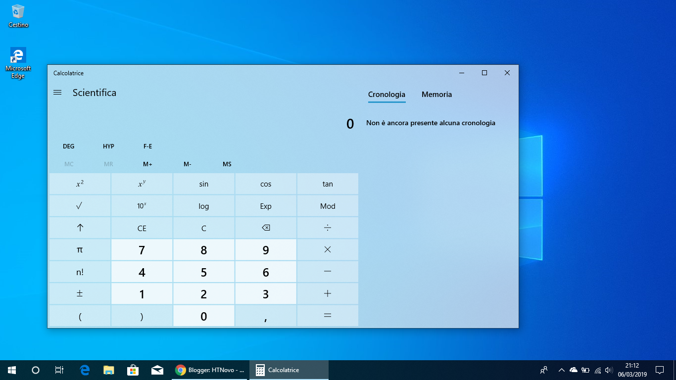 Calcolatrice-Windows-GitHub