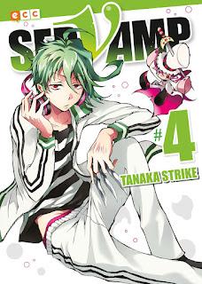 """Manga: Reseña de """"Servamp #4, #5 y #6"""" de Tanaka Strike - ECC Ediciones"""