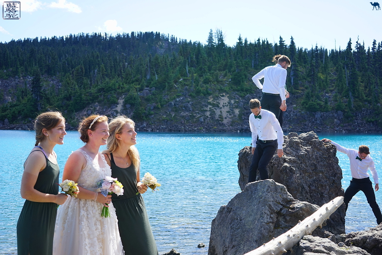 Le Chameau Bleu - Mariage au lac de Garibaldi - Canada