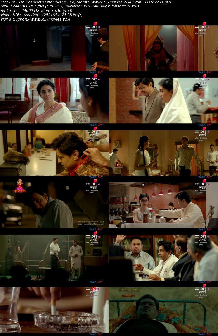 Ani... Dr. Kashinath Ghanekar (2018) Marathi 480p HDRip 450MB Movie Download