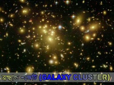ব্রহ্মাণ্ড জোট (Galaxy Cluster) কী?