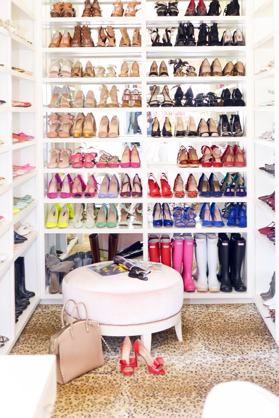 Your Whole Wardrobe Will Look Like A Pretty Rainbow And In This Way You Can  Decide Faster What Pair Of Shoes Goes With What Outfit. Easy And Practical!