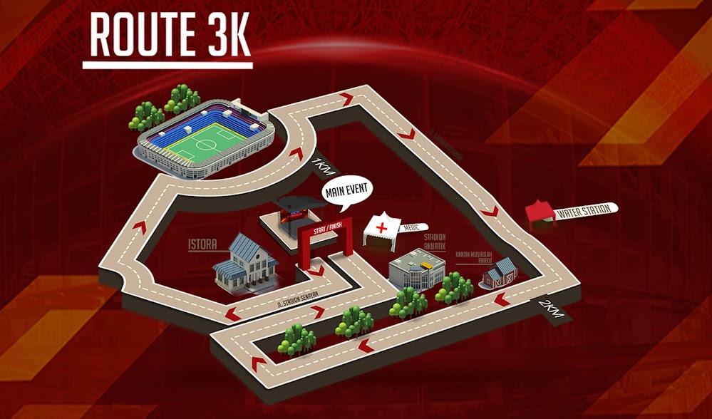 3K RCTI Reds Run 2018