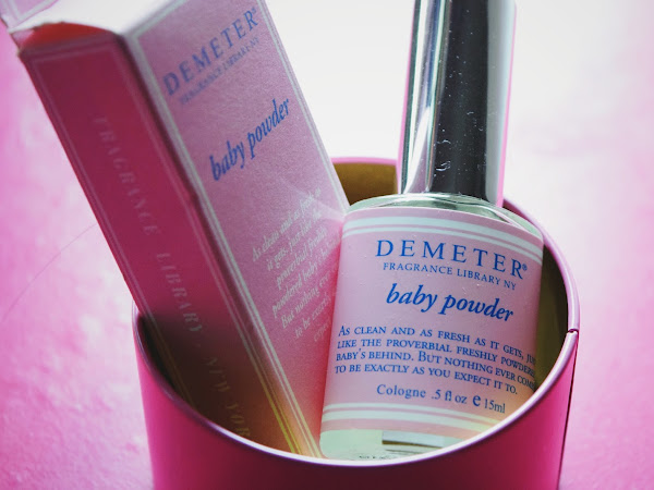 REVIEW : Baby Powder Cologne x DEMETER FRAGRANCE LIBRARY NY