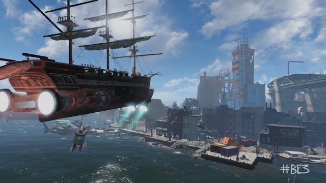 Fallout 4 VR airship