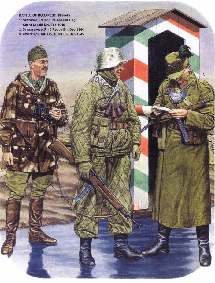 Minor Nations Militaries 1914 45 Hungarian Army In The