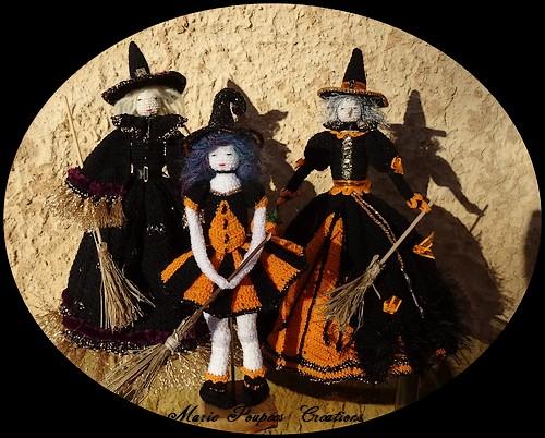 litlle Witch Sorcière poupée Halloween