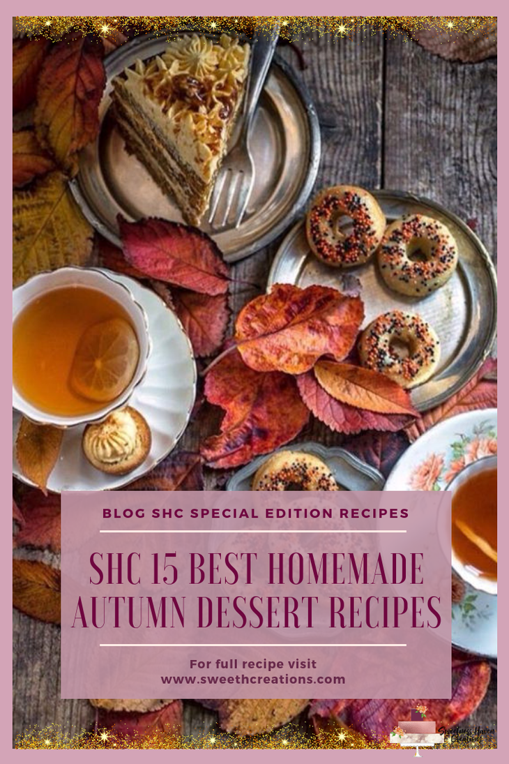 SHC 15 BEST HOMEMADE AUTUMN DESSERT RECIPES
