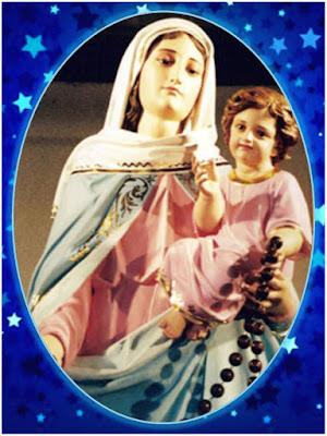 Resultado de imagen para la virgen del rosario de san nicolas