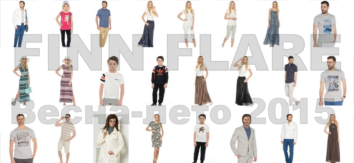 Finn Flare Fashion Collection Spring - Summer 2015