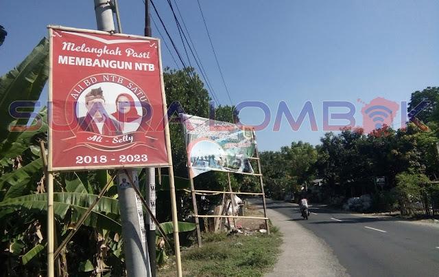 Penertiban Reklame Di KLU Tunggu Rekom Kesbangpol