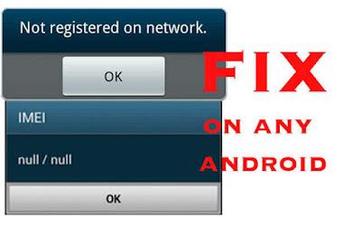 حل مشكلة imei null / null لجهاز Galaxy S4 GT-I9500