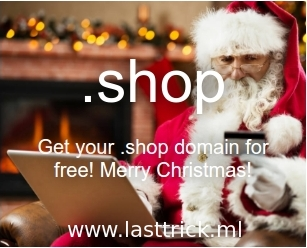 Free 2 Domain Name .shop !