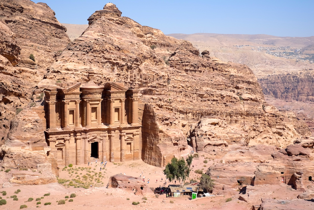 Journey to Desert and Arctic - The Monastery, Petra, Jordan