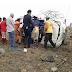 Mulher perde controle da direção e capota carro na BA-120, em Santaluz