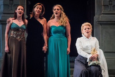 SWAP'ra gala at Opera Holland Park - Mark Adamo: Little Women - Lucy Schaufer, Rebecca Caine, Jennifer France, Beth Moxon - (Photo Robert Workman)