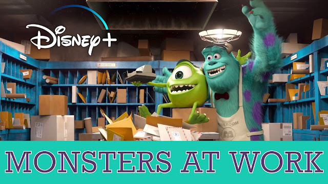 Monsters at Work Disney+ announcement