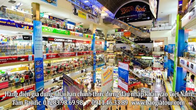 cửa hàng điện gia dụng Thái Lan