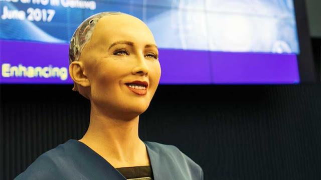 Where technology and art collide - Meet Sophia