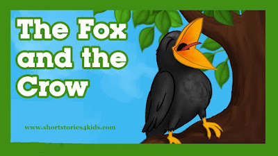 The Fox and The Crow Story with pictures and pdf