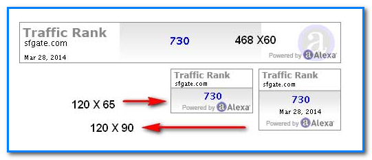 Add Alexa Ranking Widget in Blogger Blog