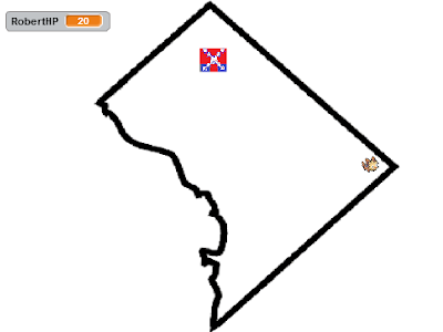 Secret Power Washington D.C. Capture the Confederate Flag Lillipup powerless