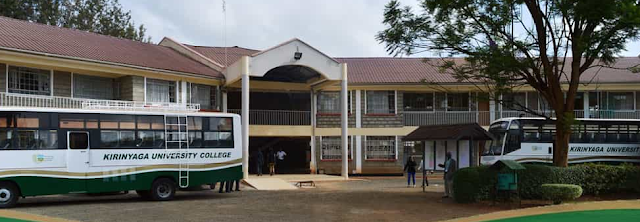 List of Courses Offered at Kirinyaga University