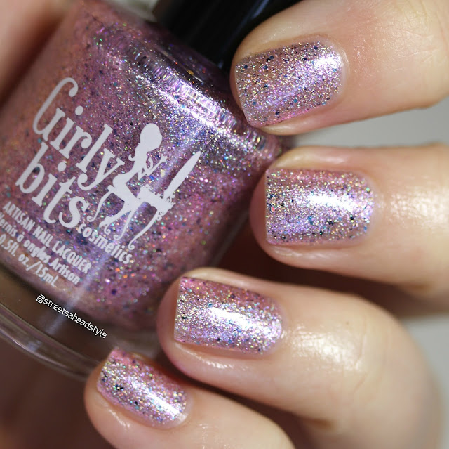 Girly Bits I Licked It, So It's Mine Unicorn Bark Nail Polish