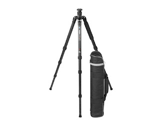 Updated Triopo GT-3228X8C Carbon Fiber Traveler Tripod w/ bag overview