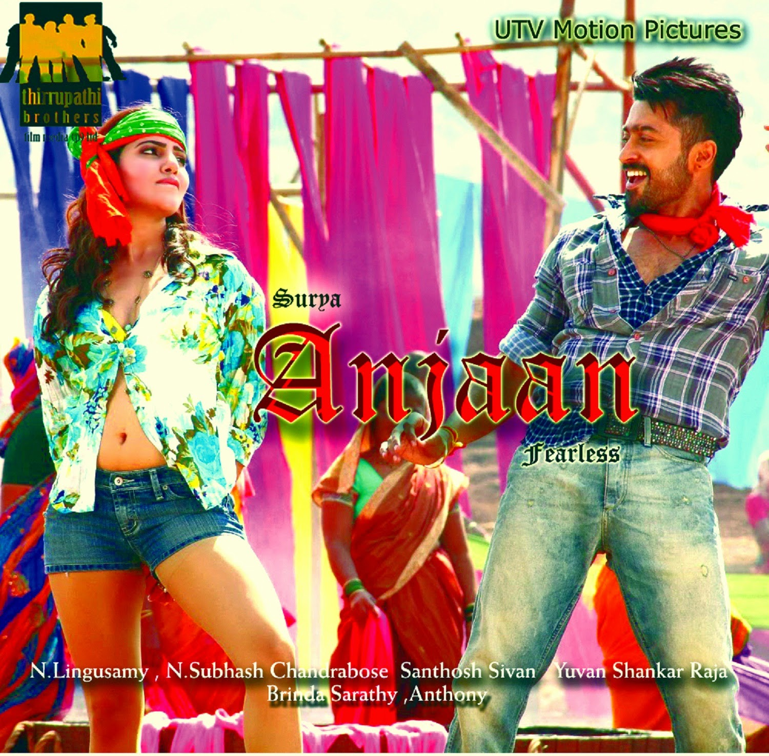 Anjaan Fans Made First Look Posters