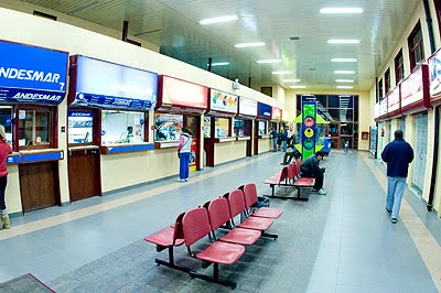 Bus station Puerto Madryn