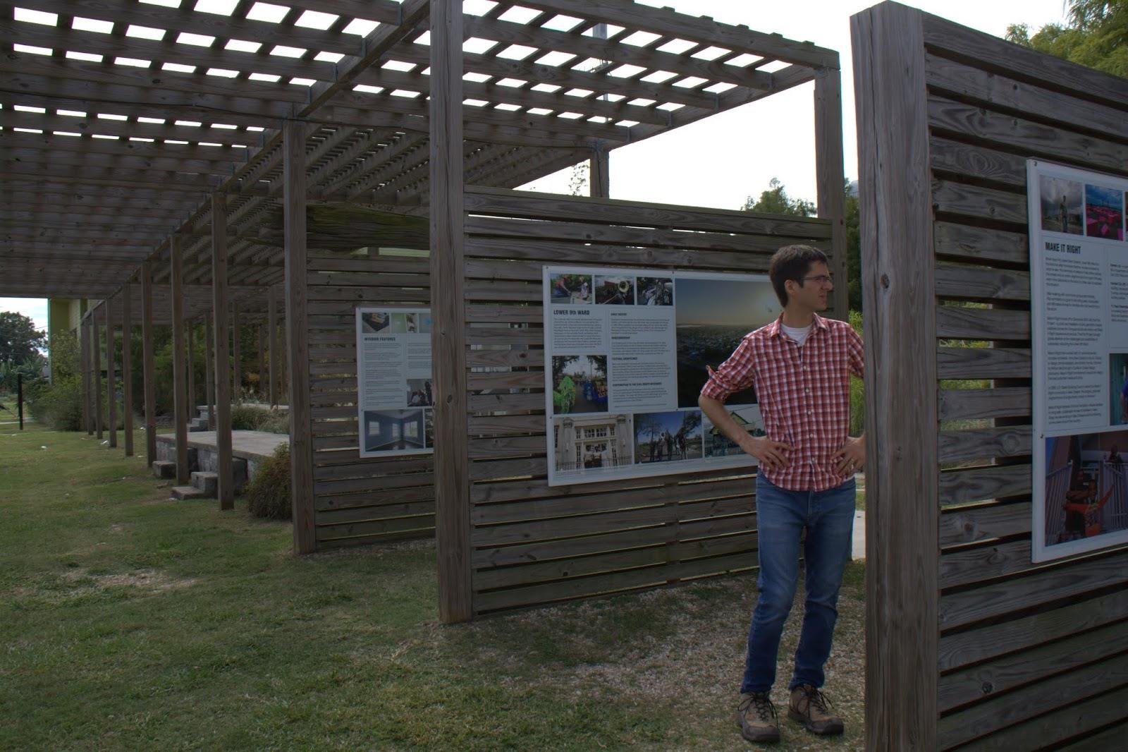The Make-It-Right pavilion