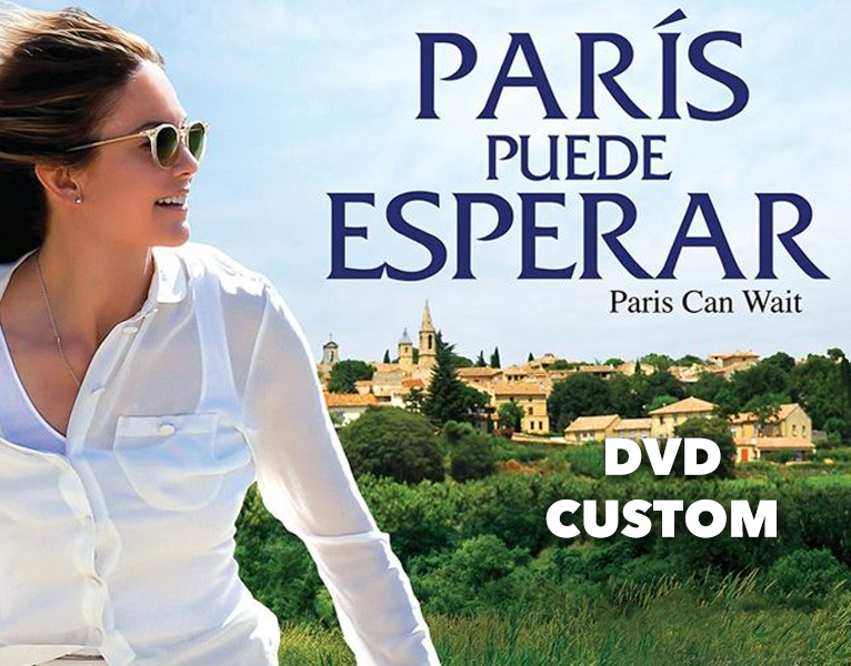 DVD Custom - Paris Can Wait