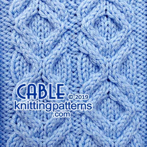 Cable Knits. Knitting Stitch Patterns.
