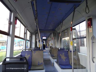 Bombardier Flexity Classic NGT8 - wnętrze