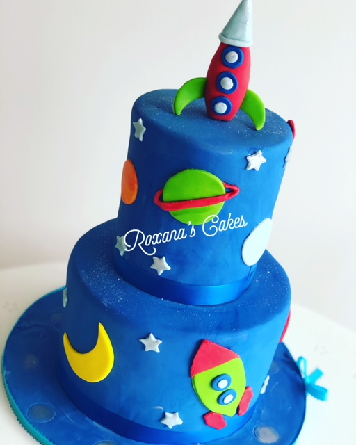 Prime Baking With Roxanas Cakes Baby Shower Cake Space Themed Funny Birthday Cards Online Inifofree Goldxyz