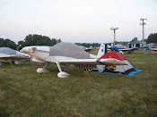 The RV8 at Oshkosh, Wisconsin