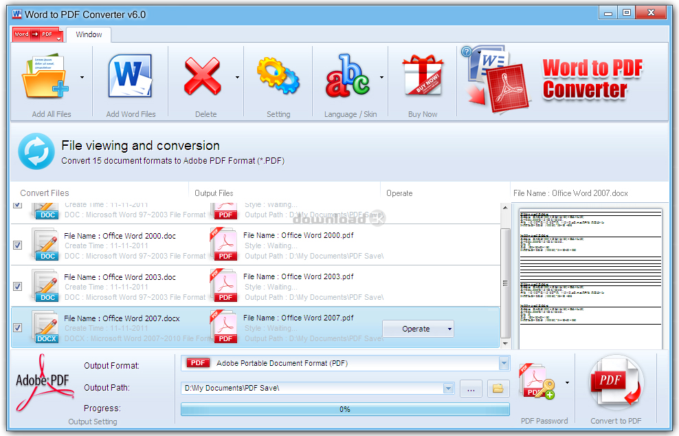 word to pdf converter  free software