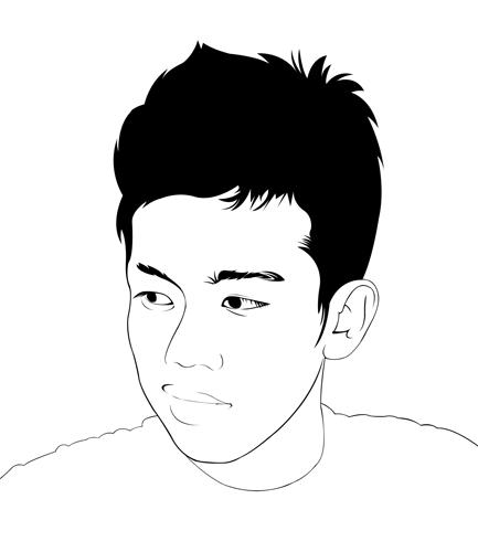Line Art Wajah : Langkah membuat line art dengan photoshop