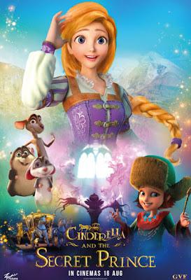 Cinderella and the Secret Prince [2018] [DVD R4] [Latino]