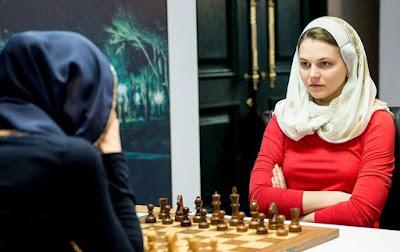 Анна Музичук обіграла росіянку Олександру Костенюк